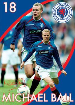 Rangers - ball Poster
