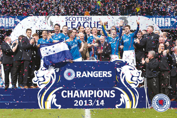 rangers fc league