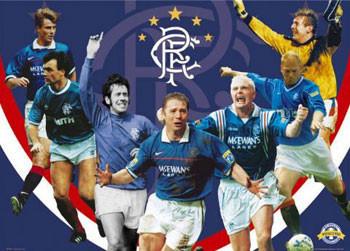 Rangers - legends Poster