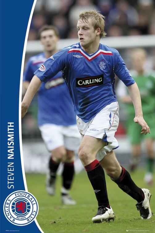 Poster Rangers - naismith 07/08