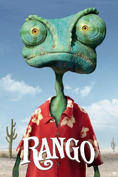 rango teaser poster sold at ukposters