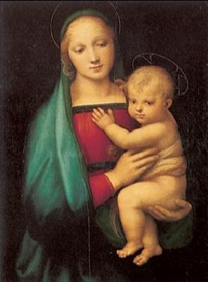 Raphael Sanzio - The Madonna del Granduca, 1505 Art Print