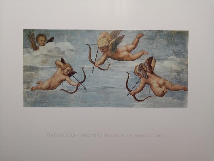 Raphael Sanzio - The Triumph of Galatea (part) Art Print