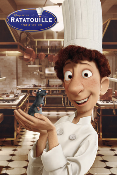 Ratatouille Linguini Remy Poster Sold At Abposters Com