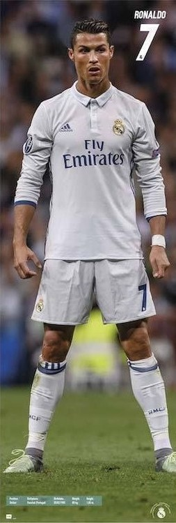 Real Madrid 2016/2017 Ronaldo Poster