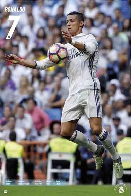 Poster Real Madrid - Ronaldo 2016/2017