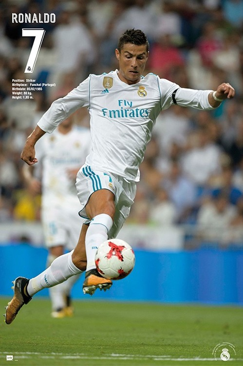 Real madrid ronaldo 2017 2018 poster sold at europosters - Miss sixty madrid ...