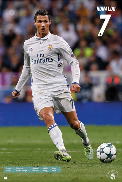 Poster Real Madrid - Ronaldo