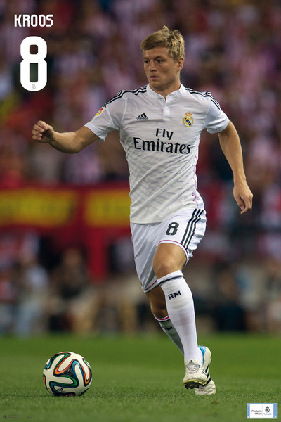 Real Madrid - Toni Kross Poster