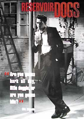 an analysis of mr blonde in reservoir dogs Reservoir dogs is a 1992 american crime/thriller film that dipicts events before and after a diamond heist mr blonde, mr blue.