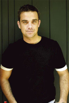 Robbie Williams - t-shirt Poster, Art Print