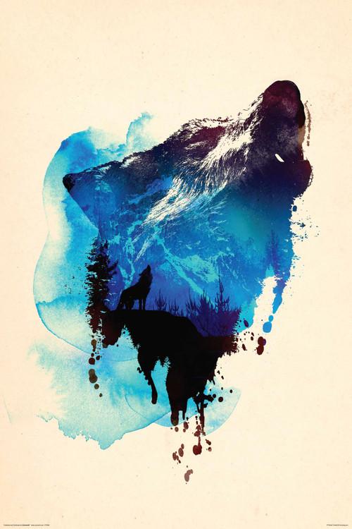 Robert Farkas - Wolf Poster