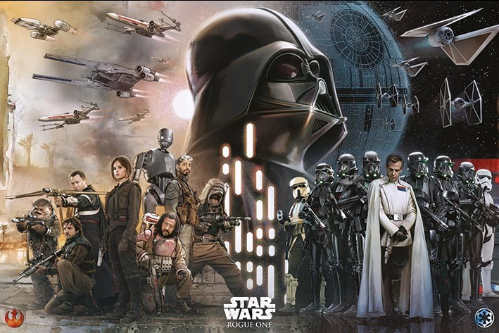 Poster  Rogue One: Star Wars Story - Rebels Vs Empire
