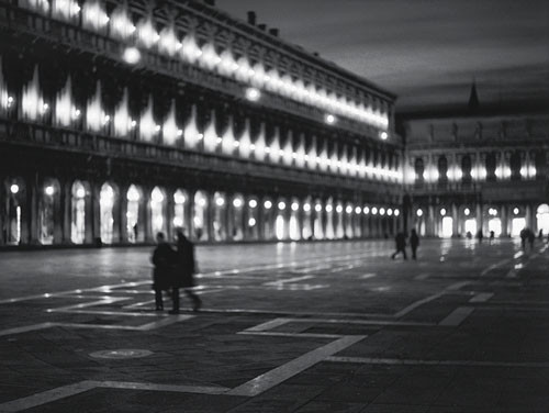 Saint Mark's square Art Print