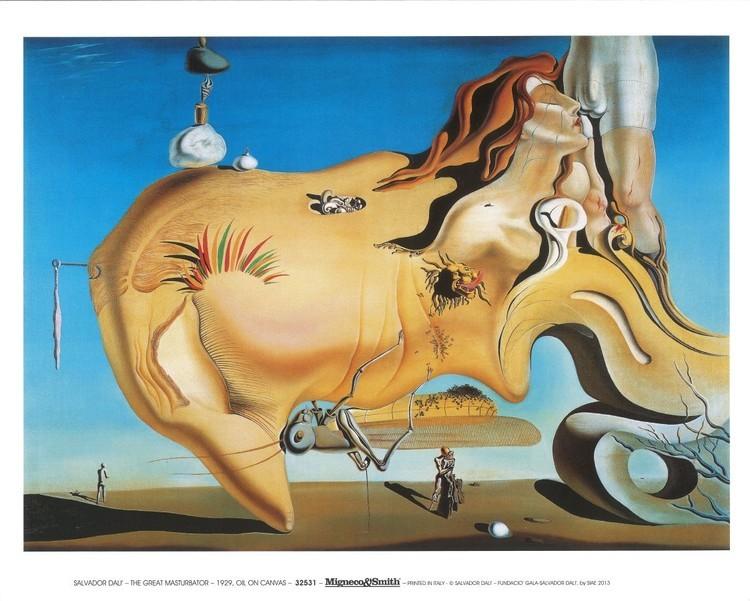 Salvador Dali - Le Grand Masturbateur Art Print
