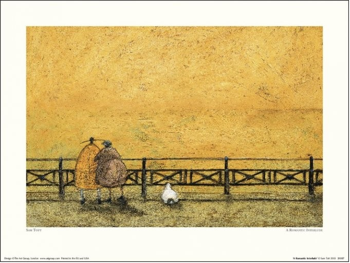 Sam Toft - A Romantic Interlude Art Print