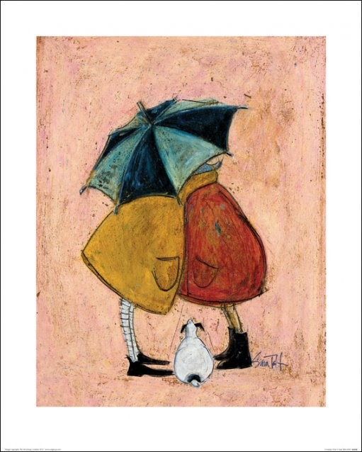 Sam Toft - A Sneaky One Art Print