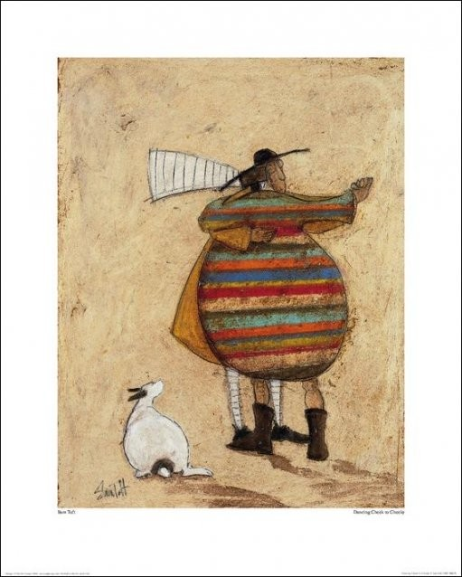 Sam Toft - Dancing Cheek To Cheeky Art Print