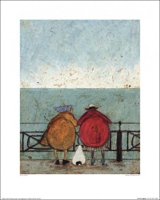 Sam Toft - Doris Earwigging Art Print