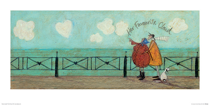 Sam Toft - Her Favourite Cloud II Art Print
