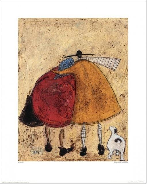 Sam Toft - Hugs On The Way Home Art Print