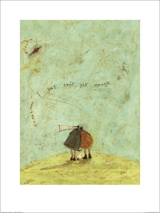 Sam Toft - I Just Can't Get Enough of You Art Print
