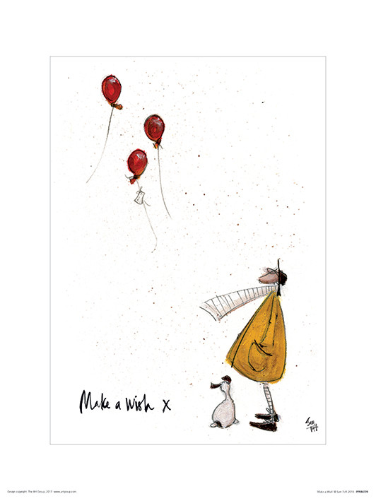 Sam Toft - Make a Wish Art Print | Buy at UKposters