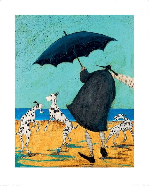 Sam Toft - On Jack's Beach Art Print