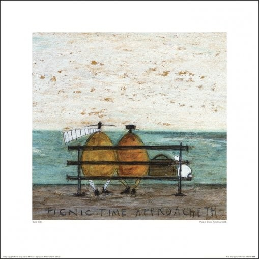 Sam Toft - Picnic Time Approacheth Art Print