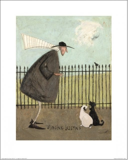 Sam Toft - Singing Lessons Art Print