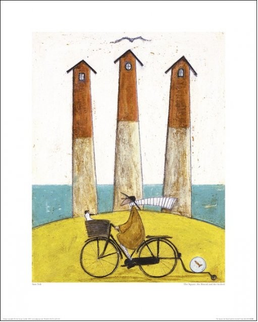 Sam Toft - The Square, The Round And The Arched Art Print