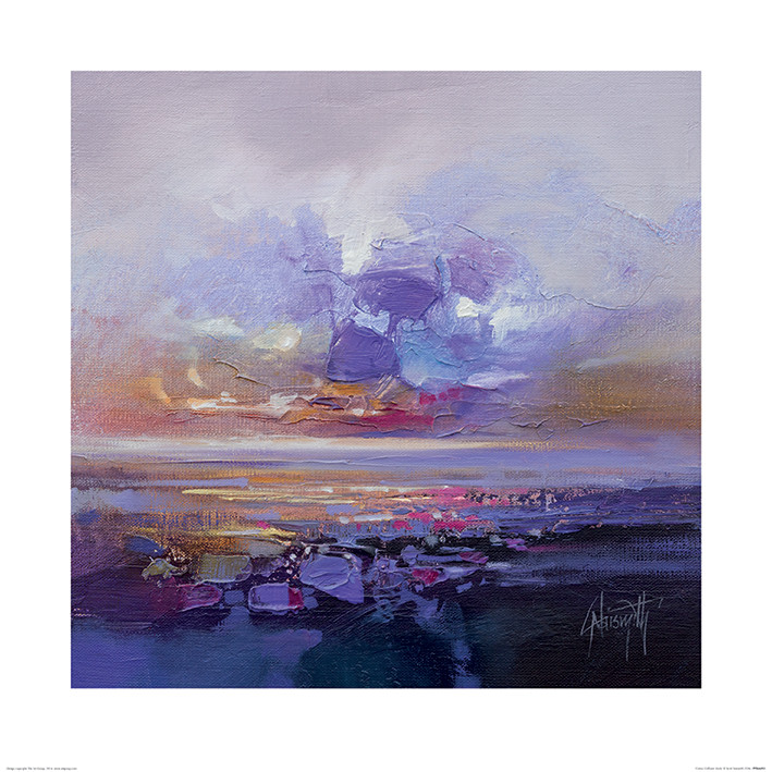 Scott Naismith - Colour Collision Study Art Print