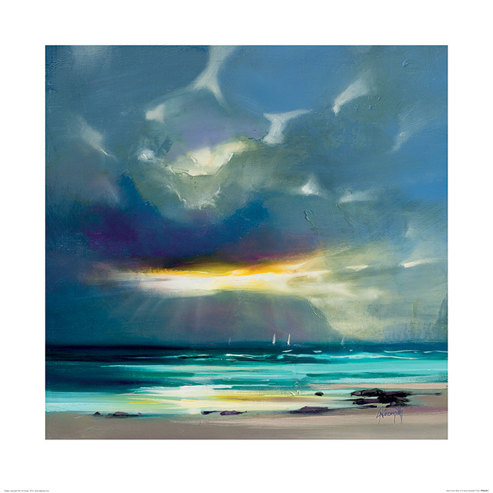 Scott Naismith - West Coast Blues II Art Print