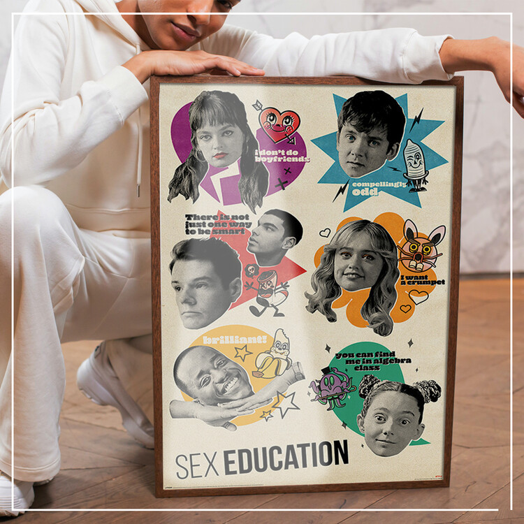 Poster Sex Education - Don't Quote Me on That