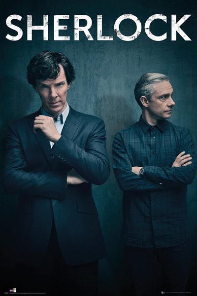 Poster Sherlock - Series 4 Iconic