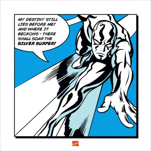 Silver Surfer - My Destiny Art Print