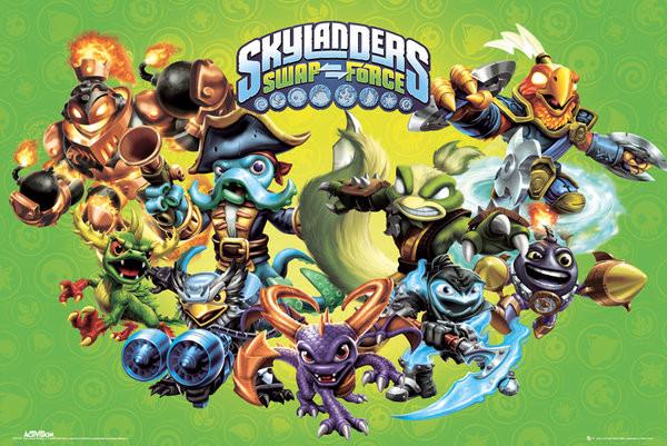 Skylanders swap force - landscape Poster | Sold at Europosters