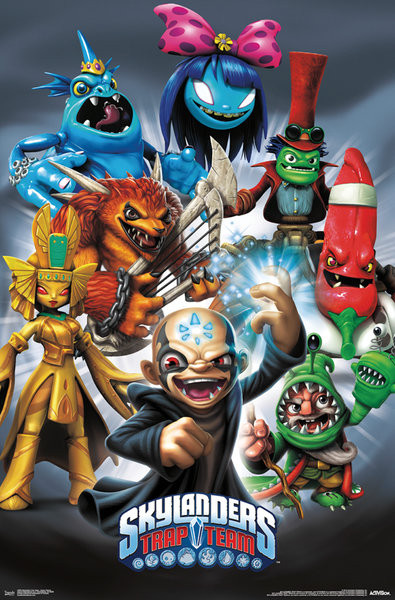 Skylanders Trap Team - Baddies Poster