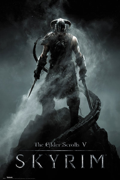 Skyrim Dragonborn Poster Sold At Europosters