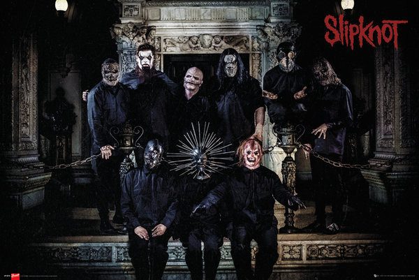 Poster Slipknot - Band Line Up