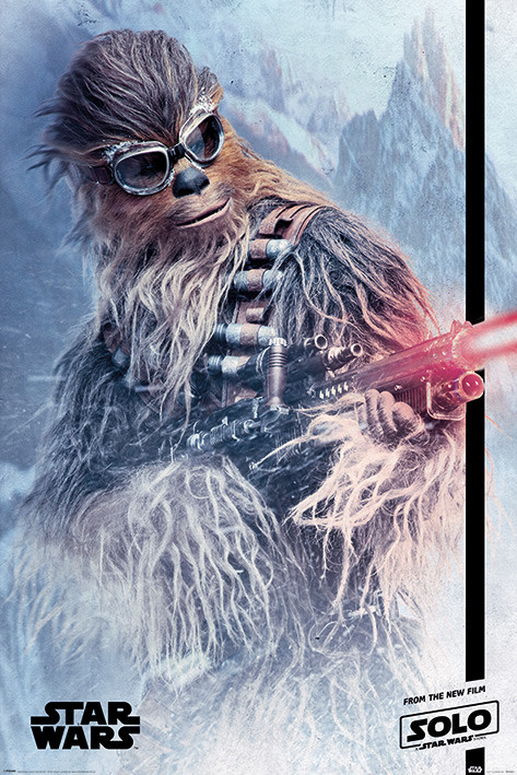 Solo: A Star Wars Story - Chewie Blaster Poster