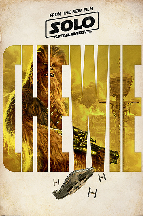 Poster Solo: A Star Wars Story - Chewie Teaser