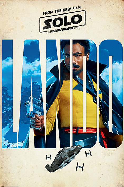 Solo: A Star Wars Story - Lando Teaser Poster