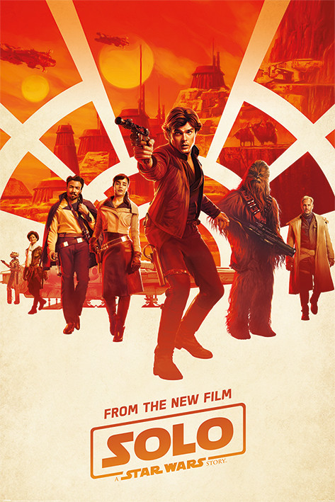Solo: A Star Wars Story - Millennium Teaser Poster