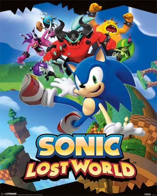 Sonic Lost World Poster Sold At Europosters
