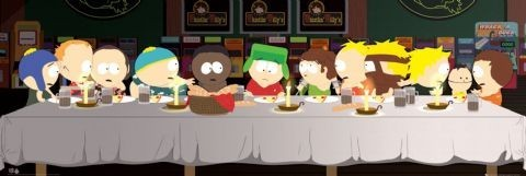 Pôster SOUTH PARK - last supper