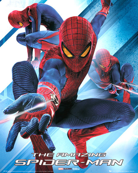 SPIDER-MAN AMAZING - blast Poster, Art Print