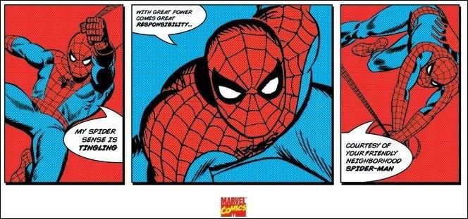 Spider-Man - Triptych Art Print