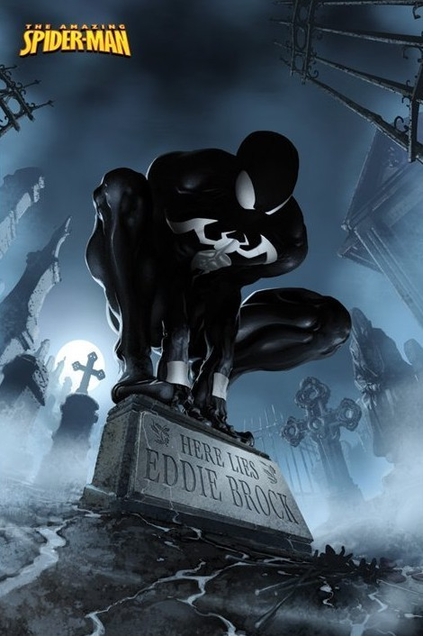 SPIDERMAN - here lies Eddie Brock Poster