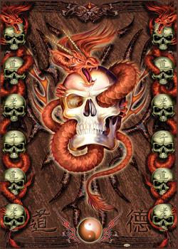 Spiral - tomb keeper Poster, Art Print